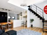 光を届け、開放感を増す。スケルトン階段を暮らしに。